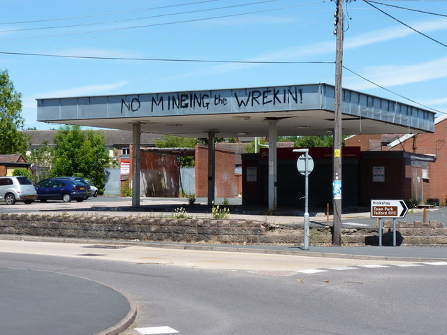 Former petrol station, Dawley