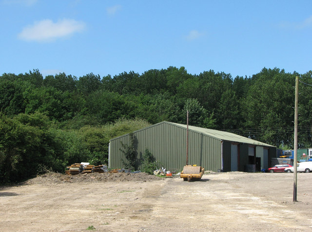 Mill Lane Industrial Estate - once Thistleton Mines