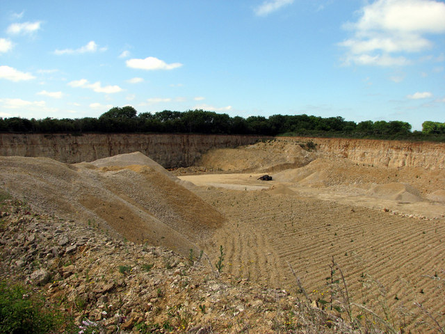 South Witham limestone quarry