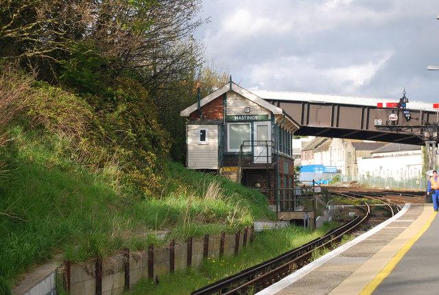 Hastings Signalbox, Hastings Station