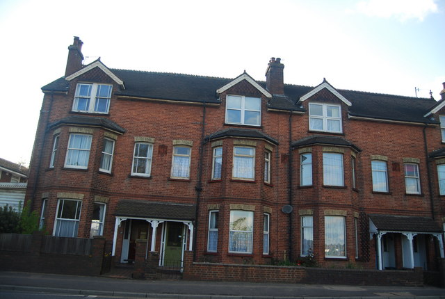 Large Victorian terraced houses,  North Farm Rd
