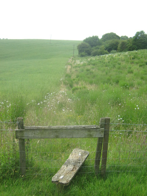 Stile near Little Holt Farm