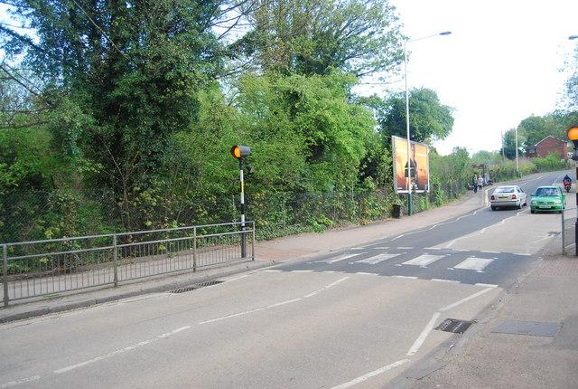 Zebra crossing, Upper Grosvenor Rd