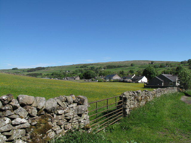 Garrigill From The Pennine Way