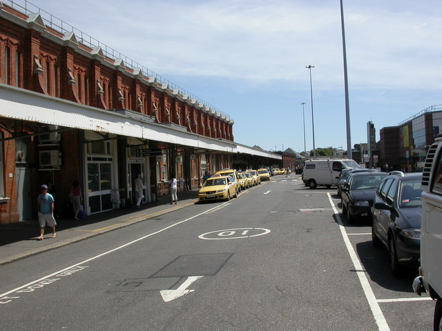 Bournemouth, taxi rank