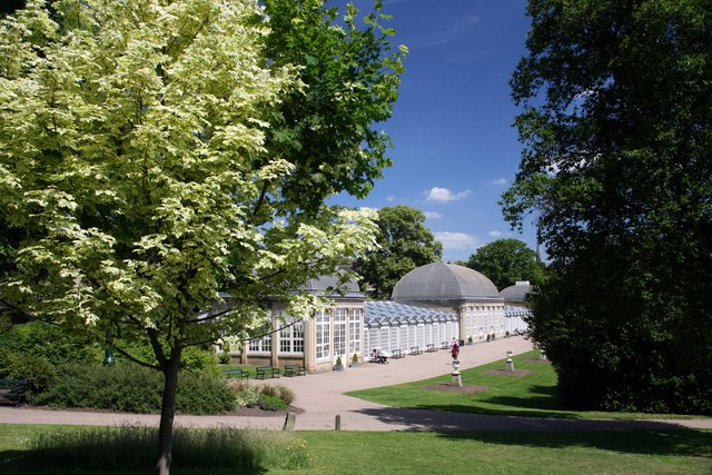 Glass Pavilions, Botanical Gardens, Sheffield