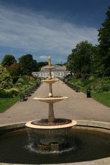 Fountain, Botanical Gardens, Sheffield