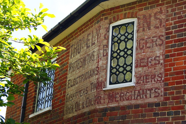 Sign on the Wall, Romsey, Hampshire