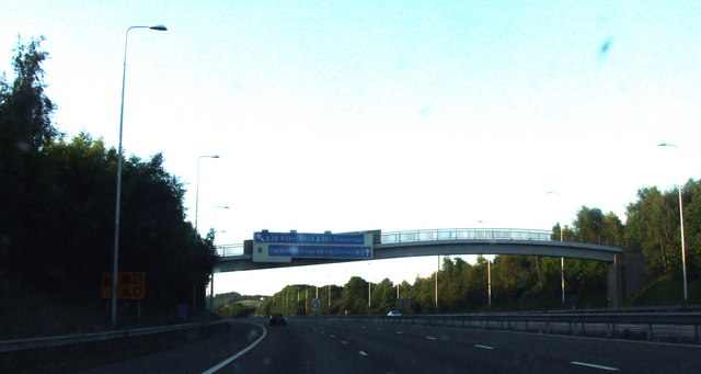 Towards Junction 4, M5