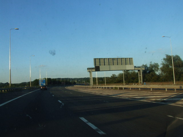 Approaching Junction 4, M5