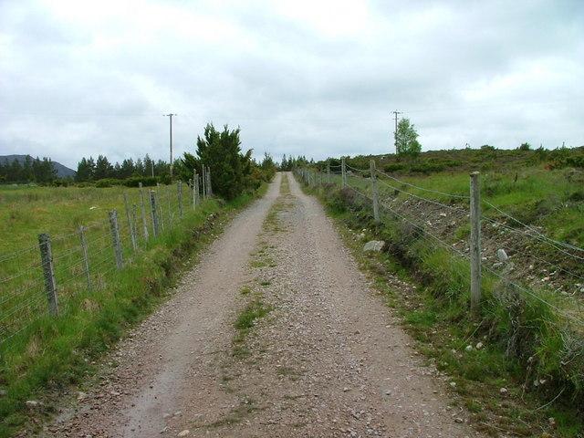 Track to Achnagoichan