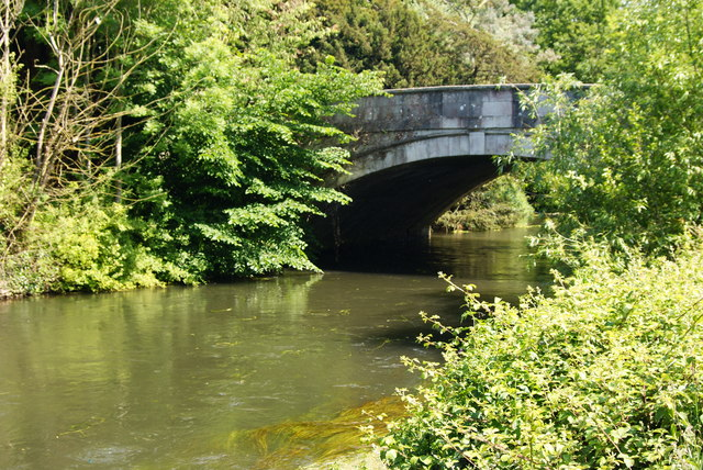 Bridge Over the River Test, Romsey, Hampshire