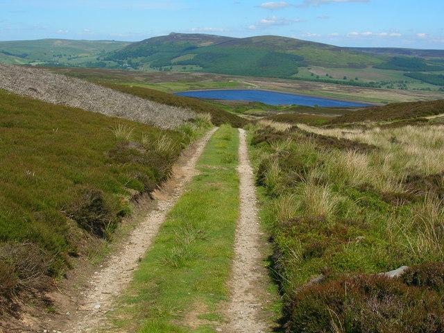 Track on Barden Moor