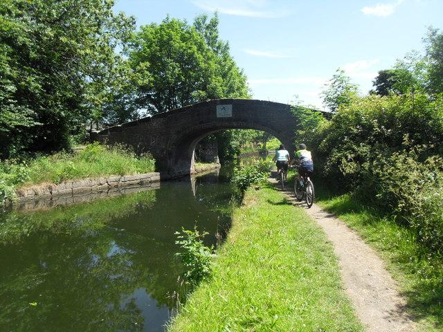 Bridge over the canal, Leigh