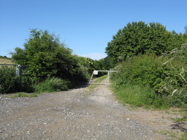 Stourport - track off Bewdley Road North