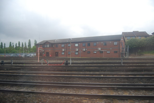South Eastern Trains building at the southern end of the Hither Green sidings.