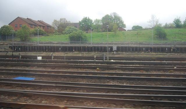 Multiple track near Grove Park Depot.