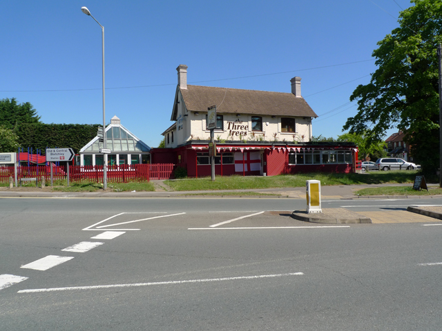 The Three Trees, Bletchley