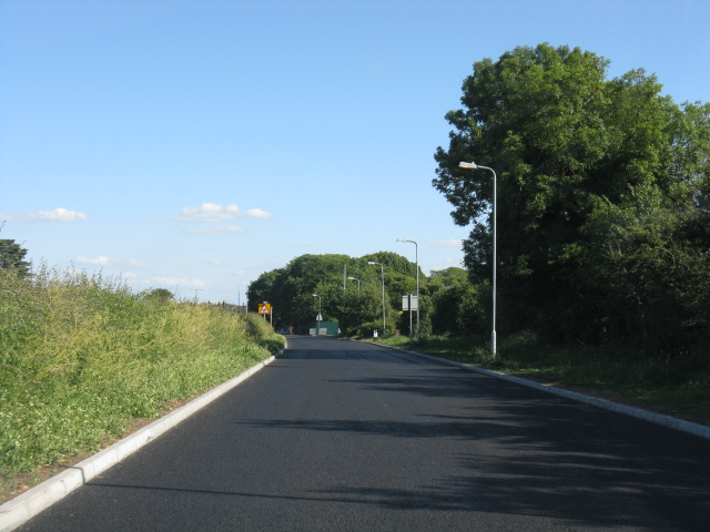 Stourport - new road surface on Kingsway