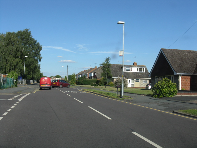 Stourport - Windermere Way at Coniston Crescent