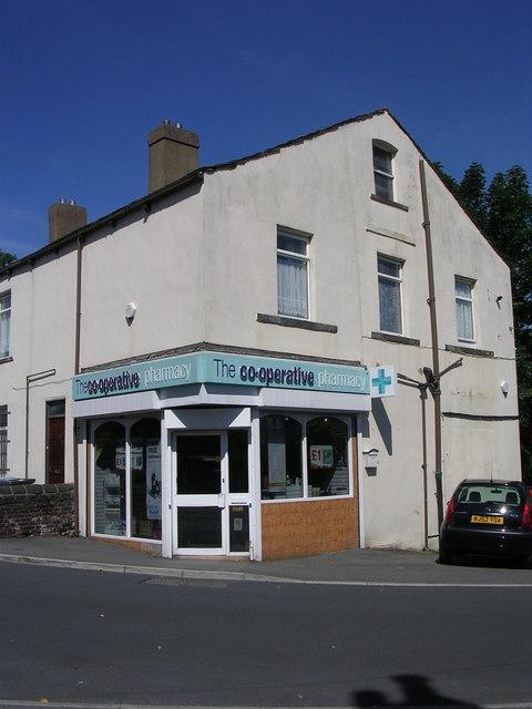 The co-operative pharmacy - Finkle Lane