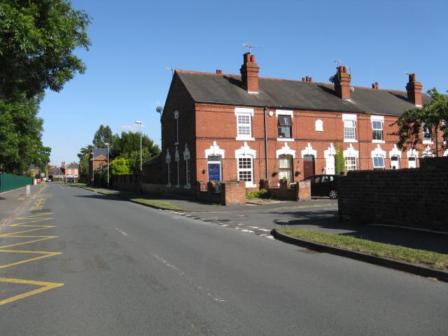 Stourport - Bishop Street from Windermere Way