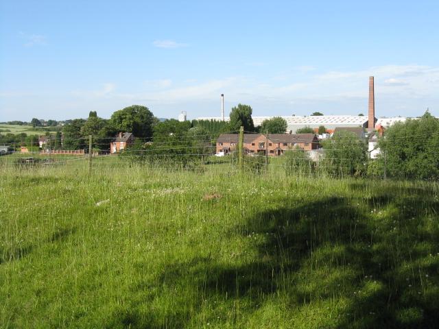 View toward Moors Avenue, Hartlebury