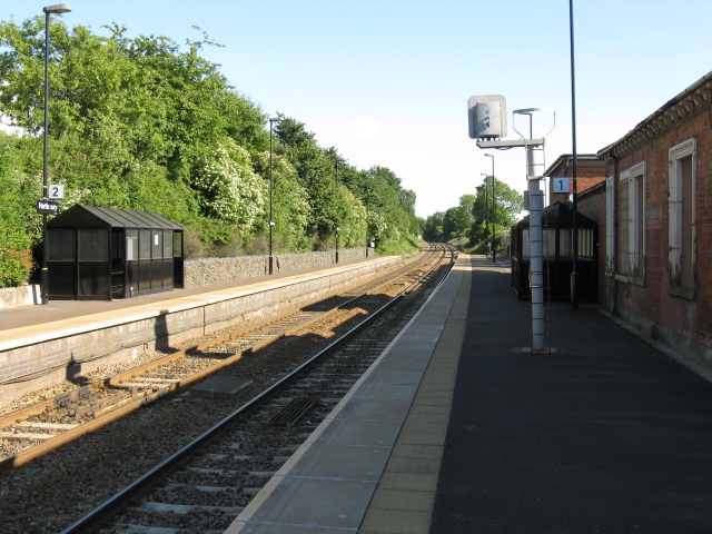 Hartlebury station from the Birmingham platform