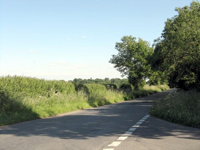 Ryeland Lane from Walton Road