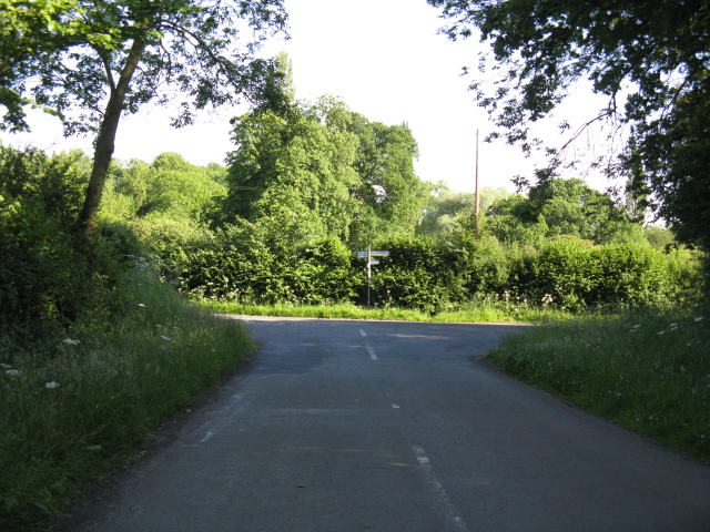 Southern end of Ryeland Lane