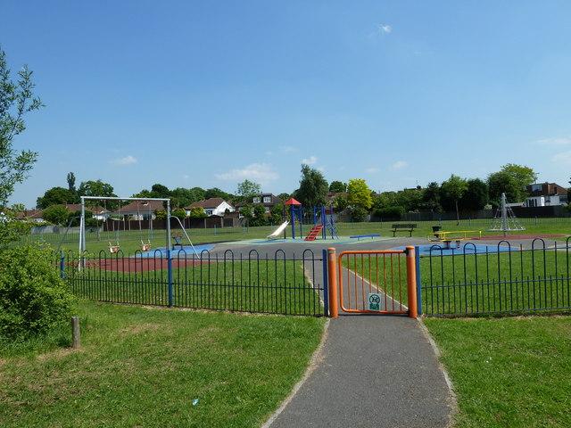 Playpark in Oxhawth Rec