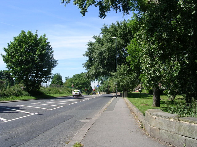 Gelderd Road - viewed from College Road