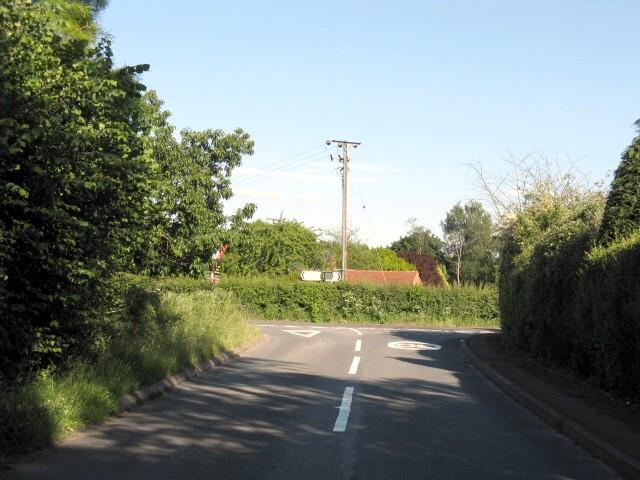 Eastern end of Elmley Lane