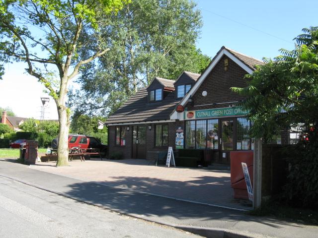 Cutnall Green - post office & general store
