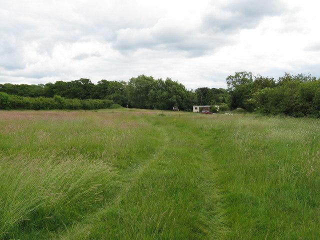 Footpath west of Brook Lodge Farm