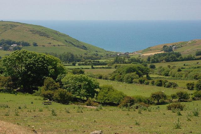 Fields near Perllan