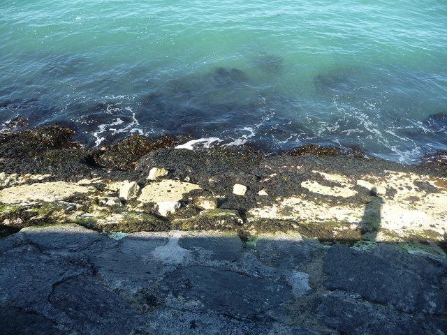 Brixham : Breakwater & Sea