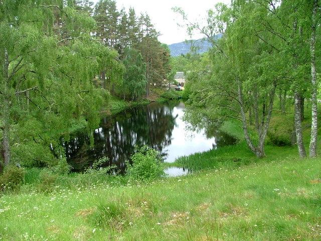 Pond at Inshriach House