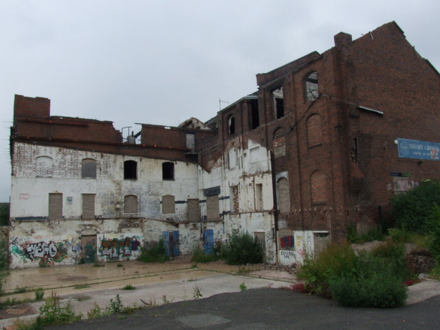 Former Stuart Crystal factory, Wordsley