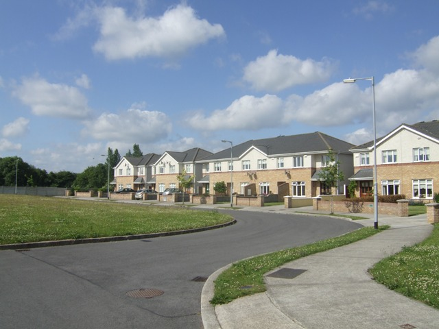 New housing estate on the Athboy Road