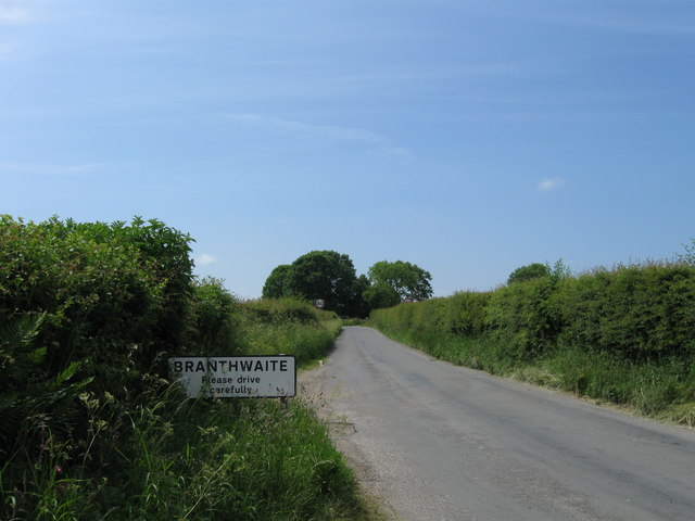 Branthwaite village sign