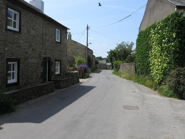 Branthwaite, village lane