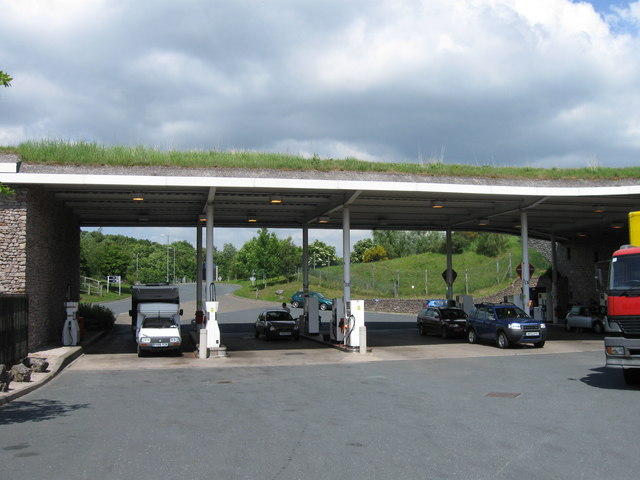 Services at Rheged off A66