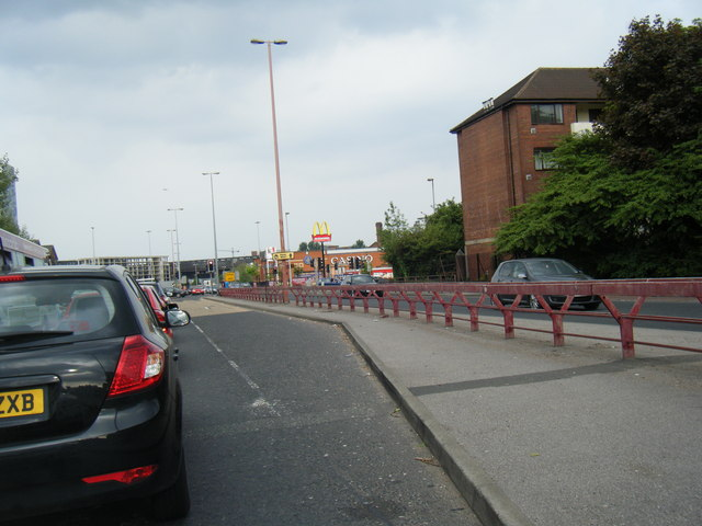 Regent Road approaching Ordsall Lane