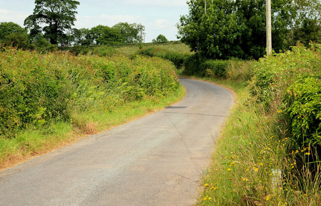 The Ballyglighorn Road near Comber (1)