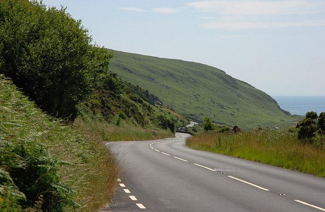 The A493 south of Llangelynnin