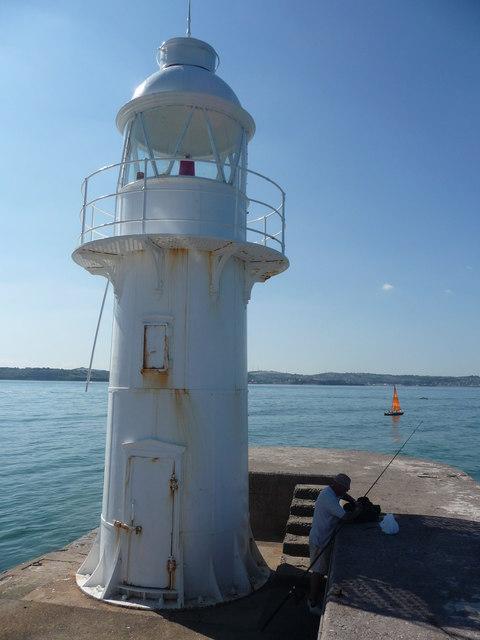 Brixham : Breakwater & Lighthouse