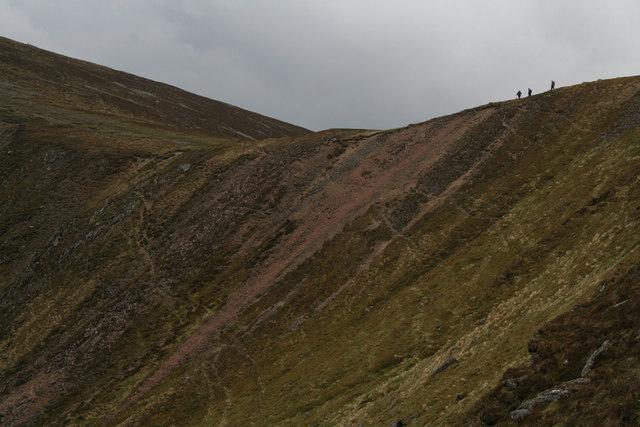 Kilbo Corrie erosion