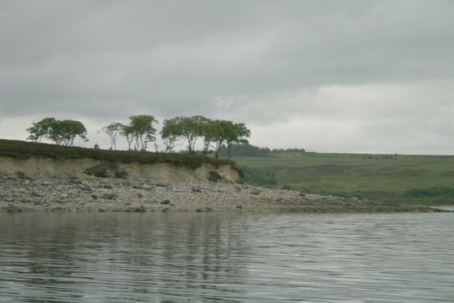 Rounding the Airde on Loch Shin