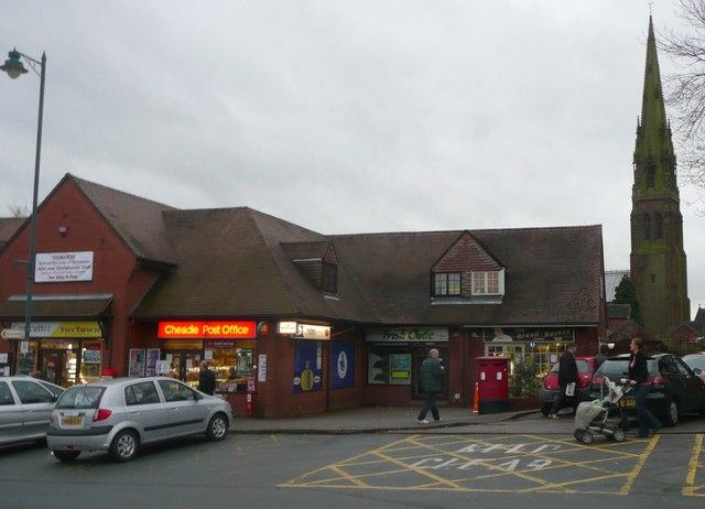 Post office, Cheadle